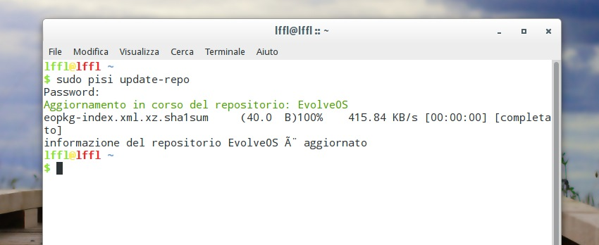 Evolve OS - PiSi Package Manager