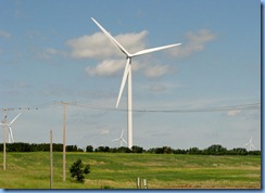 8440 Saskatchewan Trans-Canada Highway 1 Moosomin - wind turbines