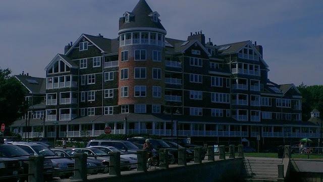 Old hotel now condo's in Jamestown, RI