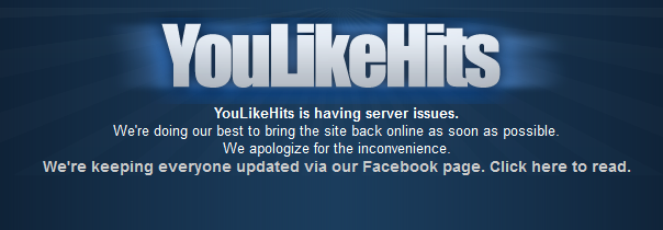 Server Youlikehits Down