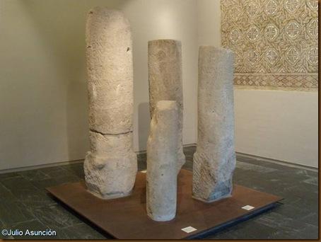 Miliarios romanos - Museo de Navarra