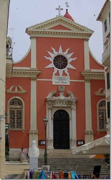 Saint Spiliotissa corfu