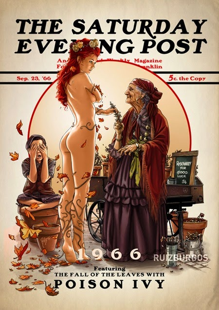 Saturday Evening Post - Poison Ivy 1966 by OnlyMilo