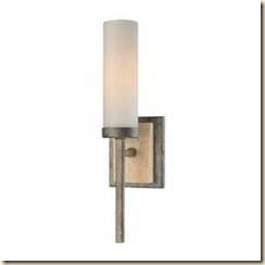 Minka Compositions High Wall Sconce Aged Patina Iron
