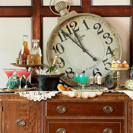 Nyårsdukning med klockor, Home Trendisign