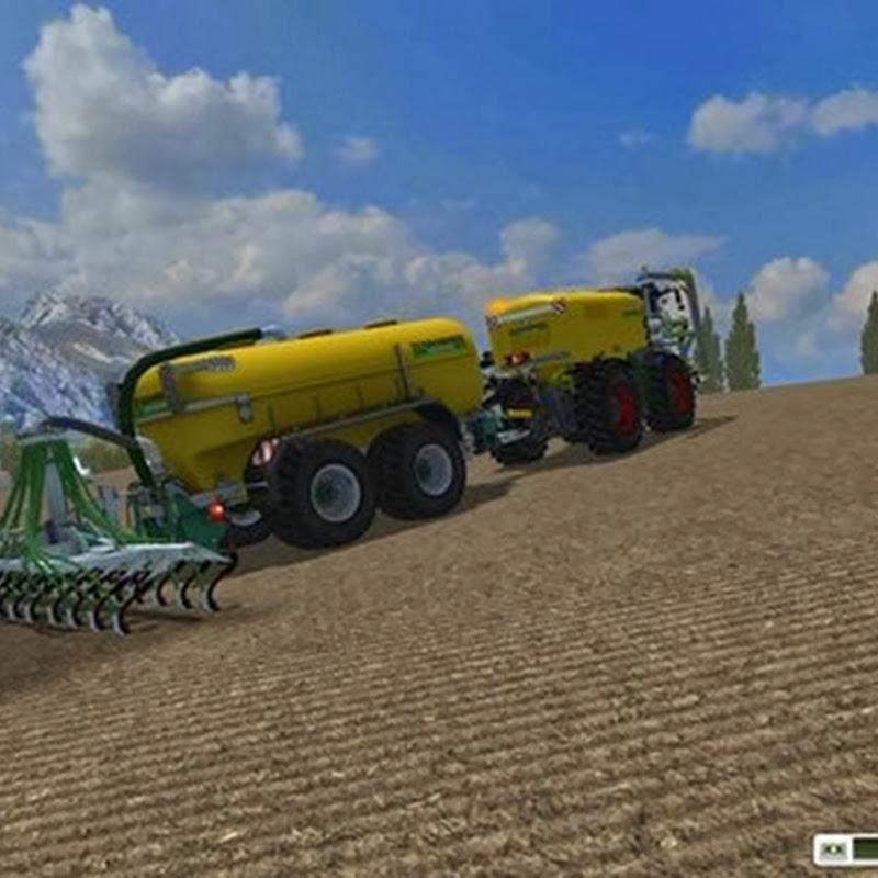 Farming simulator 2013 - Zunhammer Xerion3800 SaddleTrac v 2.2