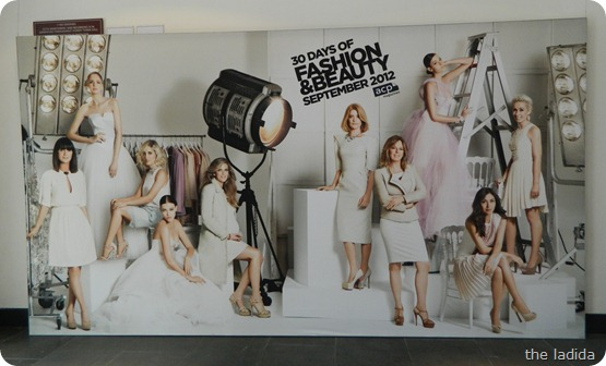 30 Days of Fashion and Beauty Editor Wall