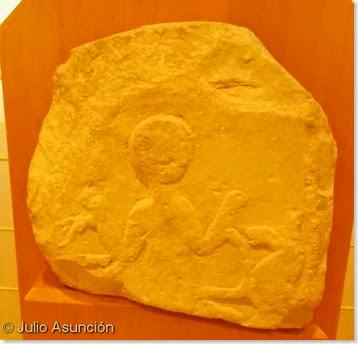 Relieve del domador de caballos - arte ibérico - Museo arqueológico de Alcoi