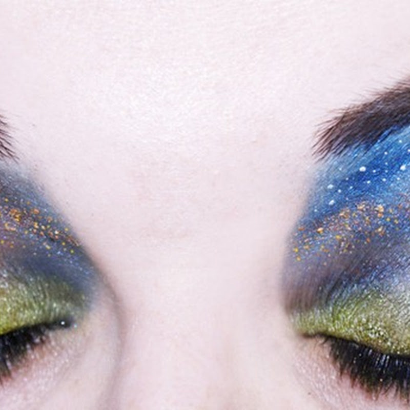 Eyelid Art by Katie Alves