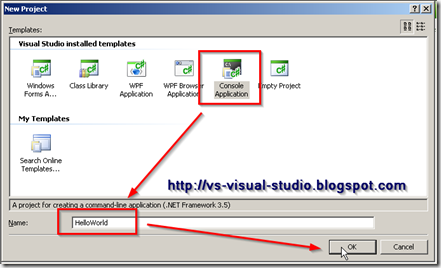 Visual C# Console Application