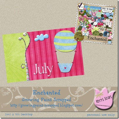 Enchanted Freebie Preview Page