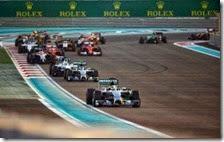 Hamilton vince il gran premio di Abu Dhabi 2014