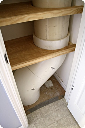 laundry chute pvc pipe