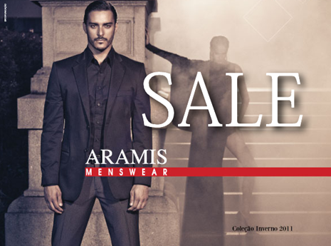 aramis loja camisa calca liquidacao ofertas 2011