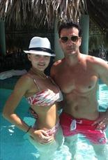 Angelique y David lucen espectaculares cuerpos