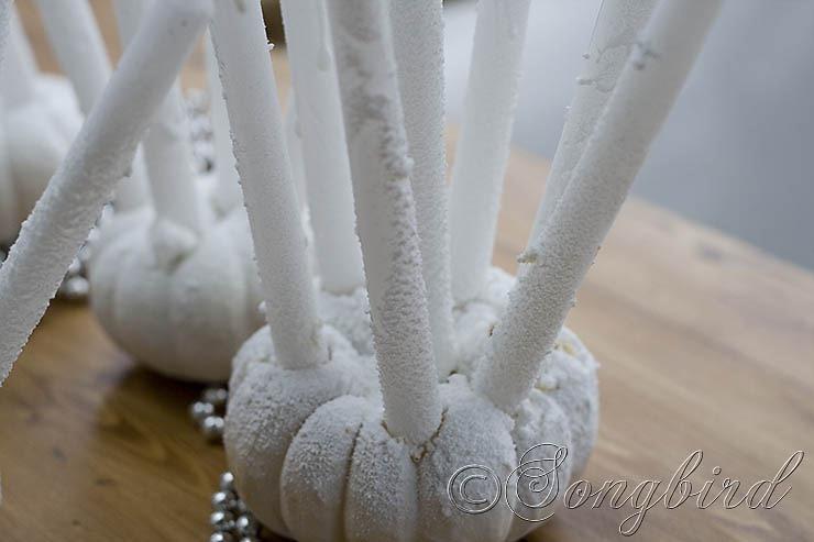Songbird Pumpkin Candlesticks 5