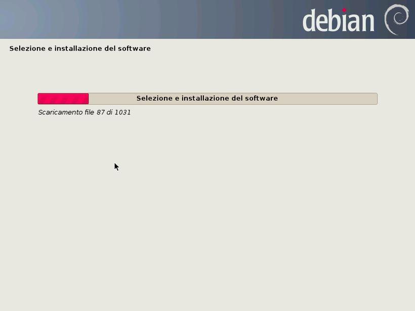 Debian Neinstall - Installazione