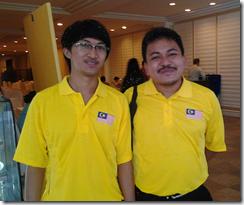 Syazwan and Ahmad Fadil Nayan