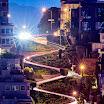 Lombard Street San Fran at Night