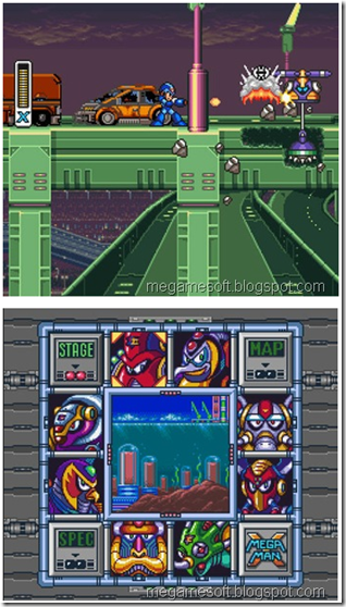 Download MegaMan X English Game (SNES Roms, PC)