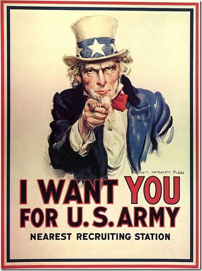 J. M. Flagg's 1917 poster