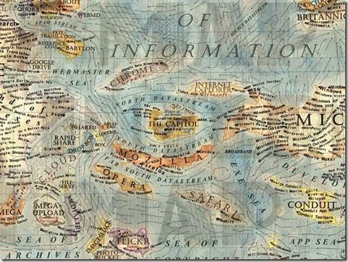 Mapa Mundi del internet 6