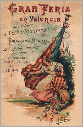 Programa oficial de la Feria. 1894