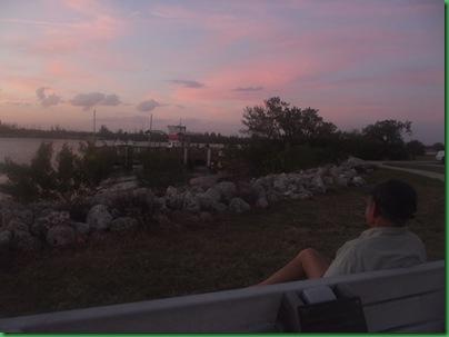 Full circle - sunrise to sunset