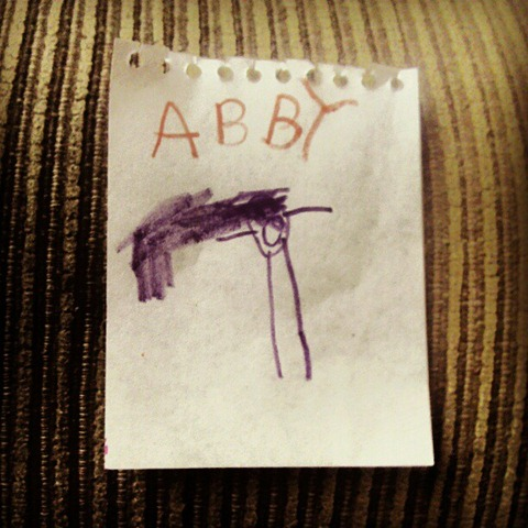13 abbys self portrait