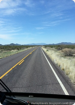 Road Photo, Hurleys' Travels, New Mexico