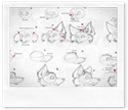 Desenhando lobos