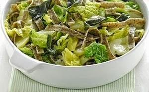 Pizzoccheri con più verza (picc) (Cucinando con Liala e Vanilla)
