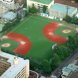 baseball field in ikebukuro in Tokyo, Tokyo, Japan