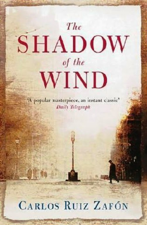 Book Cover - Shadow of the Wind by Carlos Ruiz Zafon