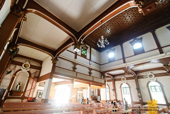 The Intricate Interior of Dipolog Cathedral
