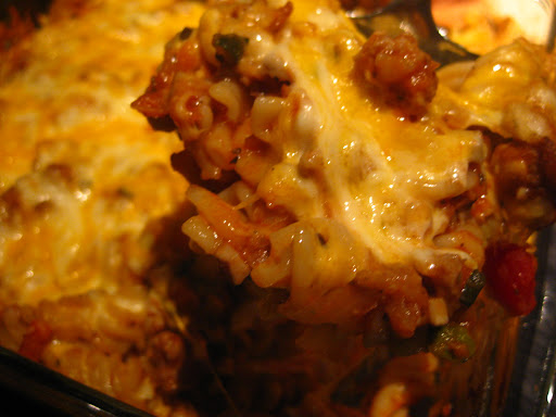 Baked Bolognese; Ashley Frejlich