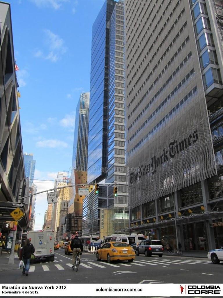 maraton de nueva york, la maraton que no fue pero se corrio