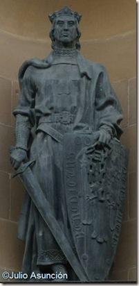 Sancho VII el Fuerte - Palacio de Navarra - Pamplona