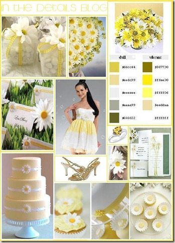 daisy-wedding-theme