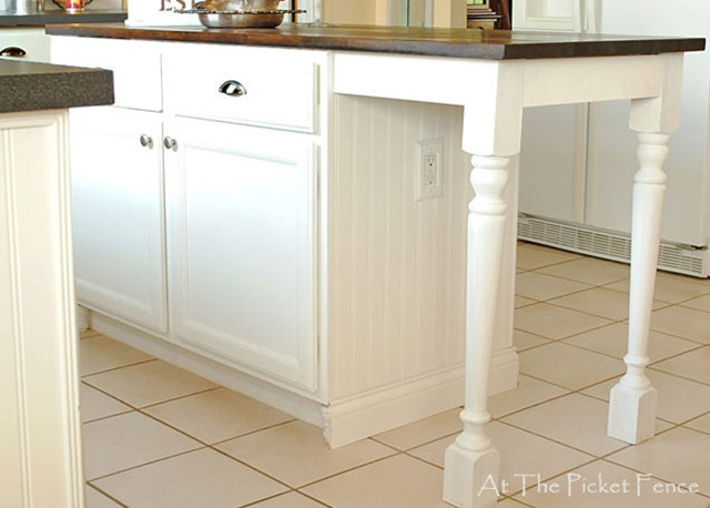 My Kitchen Island Transformation Part One At The Picket Fence