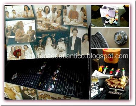 Fotos de vários tipos de caixas