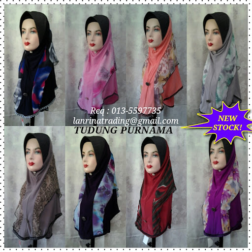 NEW STOCK - TUDUNG PURNAMA