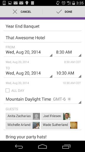 ZCal: Zimbra Calendar Sync - screenshot