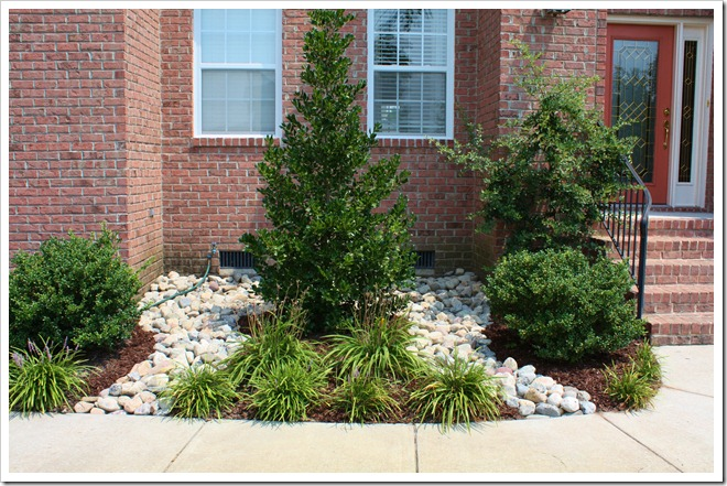 River rock landscaping sand and sisal for Different color rocks for landscaping