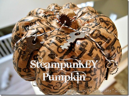 SteampunKEY Pumpkin
