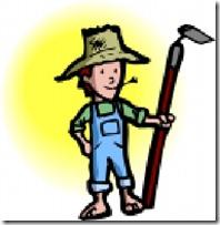 Farmer-Hoe