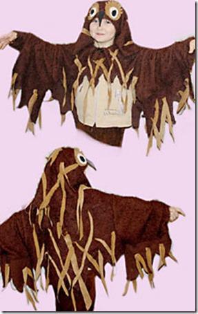 disfraz casero de buho facil