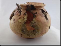 vasija en raíz de brezo