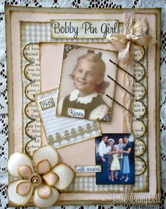Bobby Pin Girl