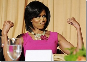 Michelle Obama gunshow_Arm Toning Exercises